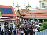 今年5月份泰国接待国际游客量同比增长4.6%