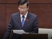 越南第十三届国会第三次会议:文体旅游部长回答国会代表的质询