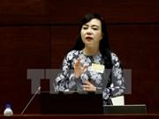 第十四届国会第三次会议:卫生部长答复代表质询  强调将着力提高基层医疗服务质量