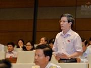 越南国会讨论《公债管理法修正案(草案)》