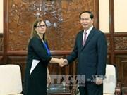 越南一向重视与以色列多方面合作关系