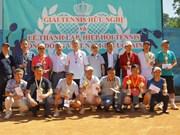 旅外越侨加强体育交流  增进团结友谊