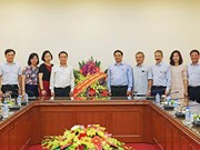 越南革命新闻日:范明正向越通社全体工作人员致以节日祝贺