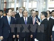 越南政府总理阮春福探访平阳省越德大学