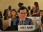 联合国人权理事会通过由越南等三国一起起草关于气候变化和人权的决议草案
