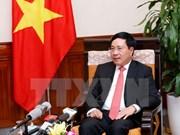 政府副总理兼外长范平明:越柬两国全面友好合作关系不断发展 造福两国人民