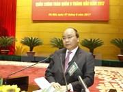 阮春福总理出席越南全军军政会议
