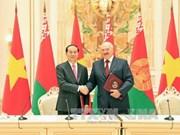 越南与白俄罗斯加强多个领域的合作