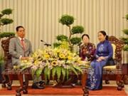 越南胡志明市与柬埔寨加强阵线工作合作