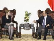 越南政府总理阮春福会见澳大利亚总理特使