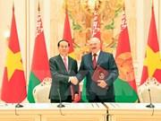 国家主席陈大光结束访问白俄罗斯  启程访问俄罗斯