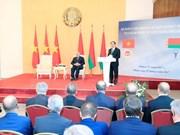 白俄罗斯总统:越白经济互补性强 合作空间大