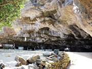 广义省李山岛上的洞寺