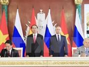 越通社与俄罗斯卫星通讯社签署新闻互换协议