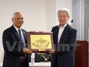 越南国会副主席汪周刘访日