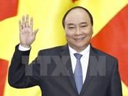 越南政府总理阮春福启程对德国进行访问并出席二十国集团峰会