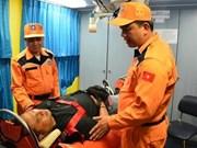 一名印尼籍晕厥船员获救