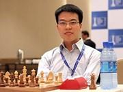 2017年世界国象公开赛:黎光廉居第二位