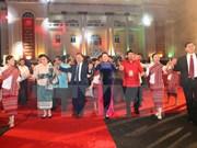 越老建交55周年:群众文艺联欢会和民族传统服装秀在山罗省拉开序幕