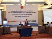 越南部署实施2030年可持续发展议程的国家行动计划