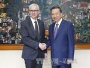 越南公安部与国际刑警组织加强合作