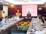 范明正会见越南新任驻外大使和总领事