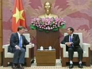越南国会副主席杜伯巳会见美国众议院军事委员会代表团