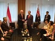 G20峰会:澳大利亚与印尼同意今年低完成全面经济合作协议谈判