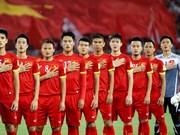 越南队世界排名第133位