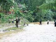 越南北部地区各省洪水灾害致12人死亡 经济损失达200多亿越盾