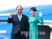 政府总理阮春福圆满结束对荷兰进行的正式工作访问