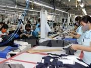 2017年上半年越南纺织品服装出口总额同比增长11.3%