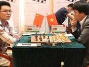 中国儋州国象超霸战第三轮:黎光廉取得三连和