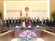国会主席阮氏金银会见越南驻外大使和外交代表机构首席代表