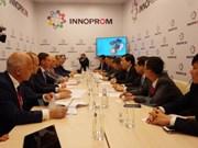 越南与俄罗斯加强两国各地的合作关系