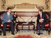 胡志明市同韩国推进教育培训合作
