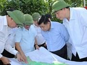 越南计划投资部部长阮志勇赴广宁省考察下龙—海防高速公路
