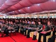 越老建交55周年:老挝人民军队一直培育越老特殊关系