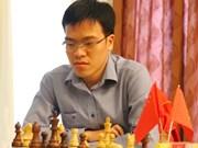 中国儋州国象超霸战第七轮:黎光廉击败世界快棋卫冕冠军