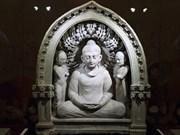 印度摄影师的佛教遗产展在河内举行