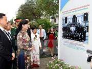 """""""越老-老越传统友谊与特殊团结""""展览会在河内举行"""