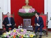 意大利共产党代表团访问越南