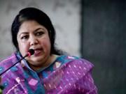 孟加拉国国民议会议长希琳•沙尔敏•乔杜里开始对越南进行正式访问