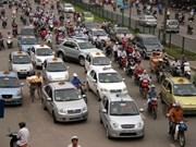 河内市跻身亚洲地区搭乘的士费用最便宜的城市名单