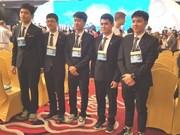 越南学生在2017年国际物理奥赛中获得史上最佳成绩