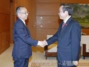 越南国会副主席冯国显会见日本审计委员会代表团