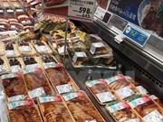 """越南查鱼料理在日本永旺超市被列为""""Top Valu""""的产品系列"""
