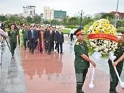 旅柬越南人举行活动 缅怀在柬牺牲的越南志愿军