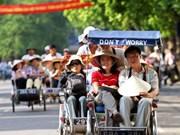 2017年前7个月访越中国和俄罗斯游客量猛增