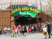 河内首个Safari野生动物园正式开门迎客